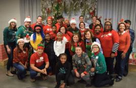 Aramark Spreads Holiday Cheer at UCAN